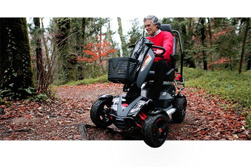 probar scooter movilidad